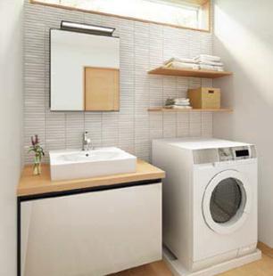 洗面台のリフォーム例